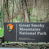 Great Smoky Mountains Entry Sign