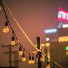 rare wintry mix around charlotte city streets in north carolina