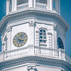Historic church steeple in charleston south carolina historic district