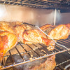 whole chicken smoked in electric bbq smoker
