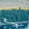 beautiful landscape in alaska mountains
