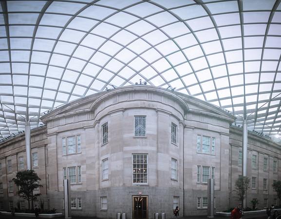 washington dc city streets and historic architecture