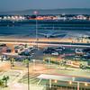 early morning scenes at san jose california international airport