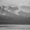 mountain range scenes in june around juneau alaska