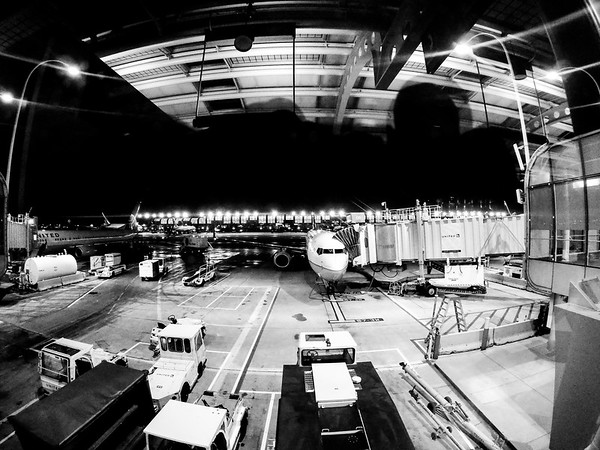 Chicago O'Hare International Airport indoors near concourse C