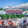 scenery around alaskan town of ketchikan