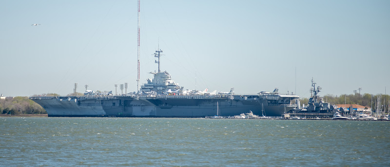 USS Yorktown In Charleston South Carolina