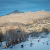 scenic views around sugar mountain ski resort in north carolina mountains