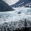 Panoramic view of Mendenhall Glacier Juneau Alaska