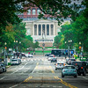 architecture and buildings on streets of washington dc