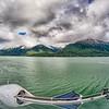 nature and mountains around skagway alaska