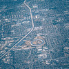 aerial fly over san jose california and silicone valleyac