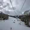 sugar mountain ski resort landscape and trails in north carolina