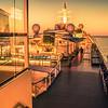 cruise ship deck or balcony on trip to alaska