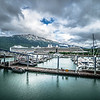 port of juneau alaska and street scenes