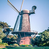 Golden Gate Park Windmill is landmark in San Francisco