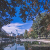 autumn season in charlotte north carolina marshall park
