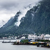 juneau alaska usa northern town and scenery