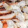 tasty steamed king crab legs ready to eat in alaska
