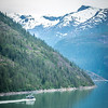 inside passage mountain views around ketchikan alaska