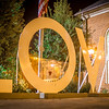 large love sign at rest area in virginia