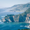 USA California pacific ocean coast shoreline