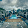 beautiful Alaskan cruise ship scenery