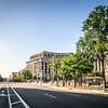 washington dc city streets and historic architecture