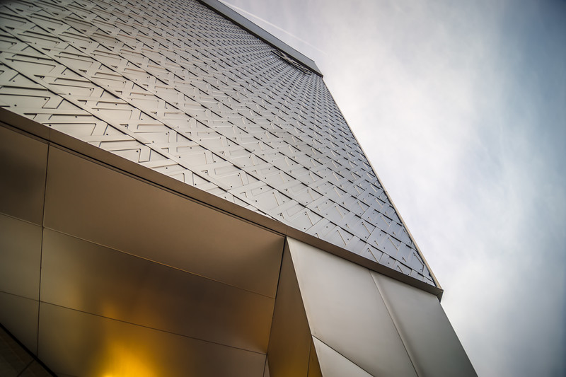modern style architecture and other buildings in las vegas nevada