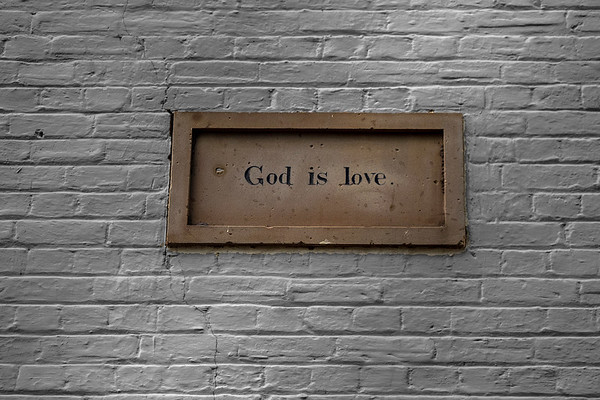 God is love, Text Kiln