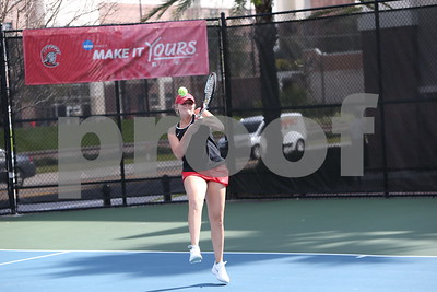 2/2/2018; Tampa, Fla.; University of Tampa women's tennis at University of Tampa tournament.