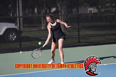 3/13/2018; Tampa, Fla.; University of Tampa tennis vs. Augustana.