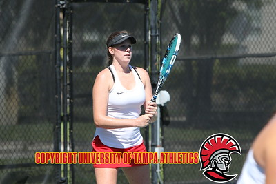 3/23/2018; Tampa, Fla.; University of Tampa women's tennis vs. Broward.