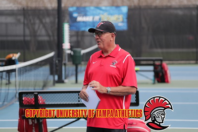 2/17/2018; Tampa, Fla.;  University of Tampa women's tennis vs. Florida Southern College.