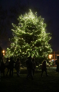 The annual town tree lighting event in Avon By the Sea, NJ on 12/2/18. [DANIELLA HEMINGHAUS | THE COAST STAR]