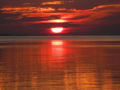 6_16_18 Sunrise over Tampa Bay