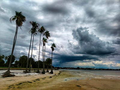 7_22_18 Stormy afternoons Northshore beach St  Pete