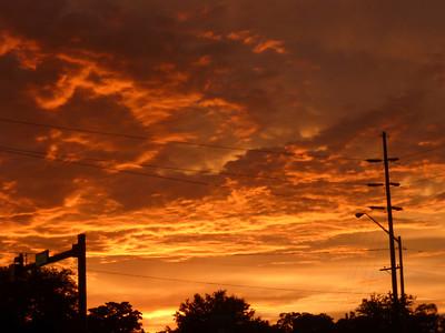 9_18_18 Treasure Island_Sky ablaze at sunset