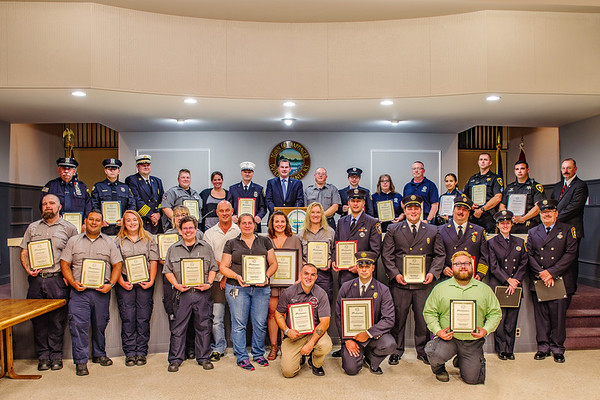 2018 Town of Wappinger  First Responder Recognition Award Ceremony  09/16/2018