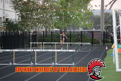 3/2/2018; Tampa, Fla.;University of Tampa men's & women's track at the UT Invitational track meet.