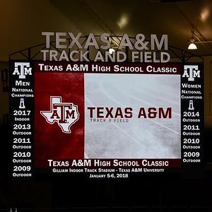 Texas A&M Indoor HS Classic 1-06-2017