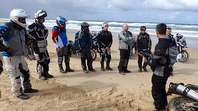 Sand Training - NSW April 2018