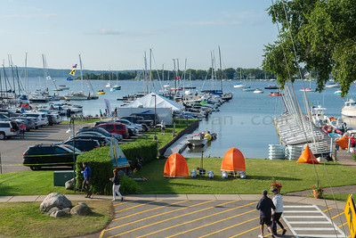 View from the Porch of the Little Traverse Yacht Club