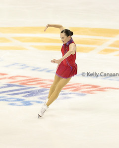 Mariah Bell, always fun to watch, finished 6th.