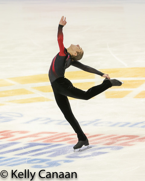 Jason Brown placed 6th this time around.