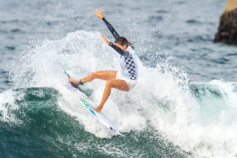 Malia Manuel, US Open of Surfing, Huntington Beach, Day 8