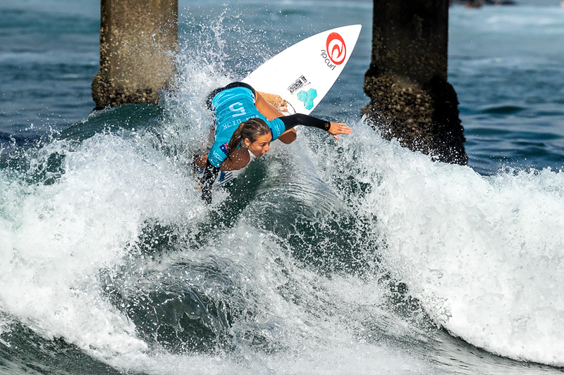 Nikki Van Dijk, US Open of Surfing, Huntington Beach, Day 8