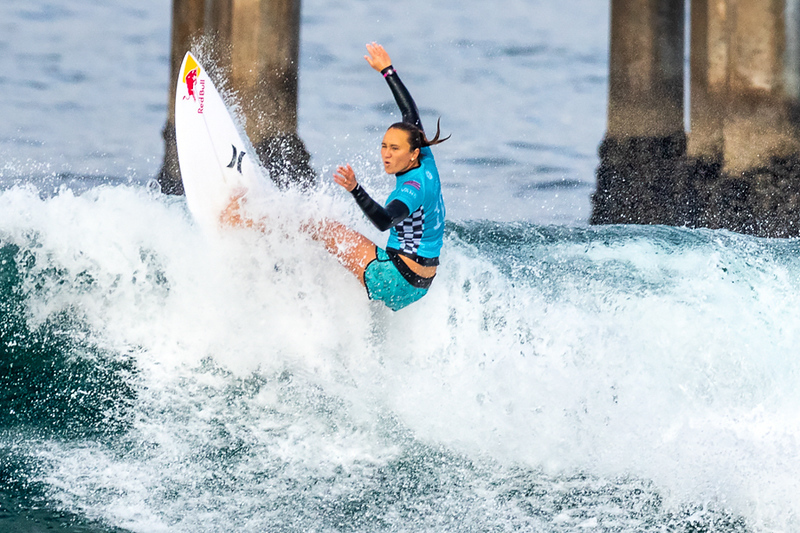 Carissa Moore, US Open of Surfing, Huntington Beach, Day 8