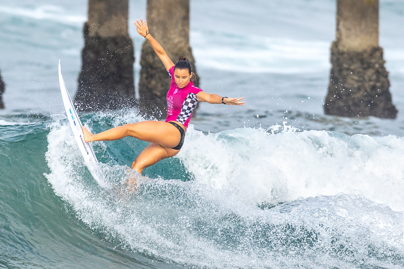 Johanne Defay, US Open of Surfing, Huntington Beach, Day 8