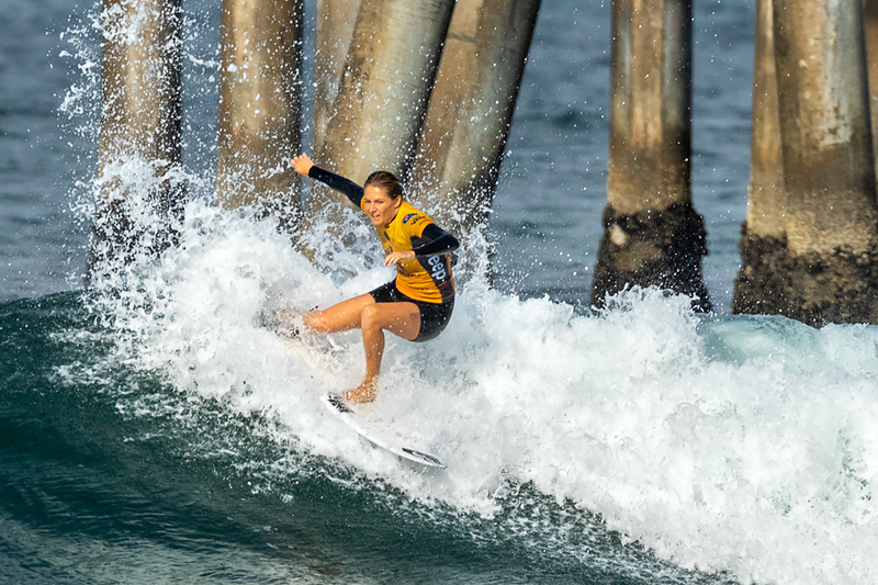 Stephanie Gilmore, US Open of Surfing, Huntington Beach, Day 8